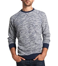 Weatherproof Vintage® Men's Long Sleeve Space Dye Crew Neck Fleece