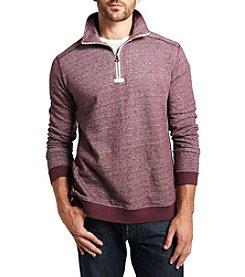 Weatherproof Vintage® Men's Long Sleeve Melange 1/4 Zip Pullover