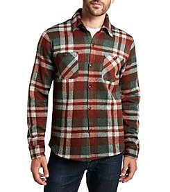 Weatherproof Vintage® Men's Long Sleeve Fleece Plaid Shirt Jacket