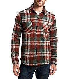 Weatherproof Vintage® Men's Long Sleeve Fleece Plaid Shirt Jacket