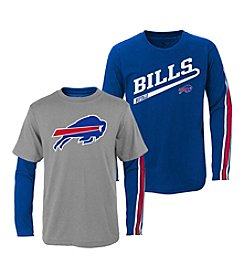 adidas® NFL® Buffalo Bills Boys' 2T-4T Squad 2-For-1 Tee