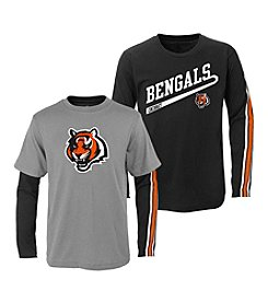 NFL® Boys' 2T-4T Cincinati Bengals Squad 2-For-1 Tee
