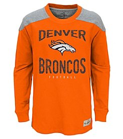 adidas NFL® Denver Broncos Boys' 8-20 Legend Long Sleeve Tee