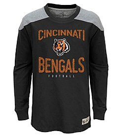 adidas NFL® Cincinnati Bengals Boys' 8-20 Legend Long Sleeve Tee