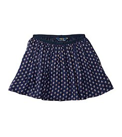 Polo Ralph Lauren® Girls' 2T-6X Printed Flounce Skirt
