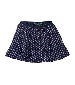 Polo Ralph Lauren® Girls' 2T-6X Printed Flounce Skirt