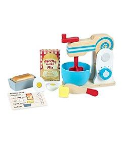 Melissa & Doug® Wooden Make-A-Cake Mixer Set