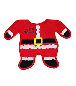 Cuddle Bear® Baby Santa Body Bib