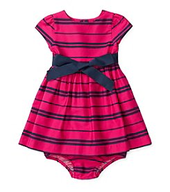Ralph Lauren® Baby Girls' Striped Fit And Flare Dress