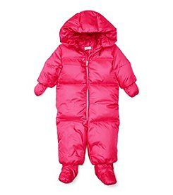 Ralph Lauren® Baby Girls' Quilted Down Snowsuit