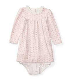 Ralph Lauren® Baby Girls' Printed Ruffle Dress