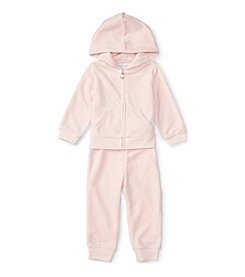 Ralph Lauren® Baby Girls' 2-Piece Hook Up Pants Set