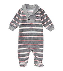 Ralph Lauren® Baby Boys' Shawl Collar Striped Coverall