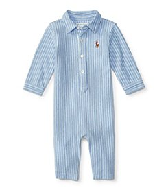 Ralph Lauren® Baby Boys' Kensington Oxford Coverall