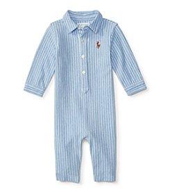 Ralph Lauren® Baby Boys' Kensington Oxford Coverall