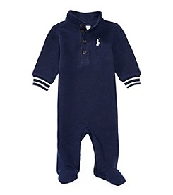 Ralph Lauren® Baby Boys' French Rib Coverall