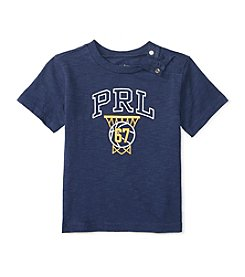 Ralph Lauren® Baby Boys Short Sleeve Basketball Tee