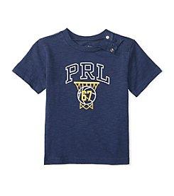 Ralph Lauren® Baby Boys Short Sleeve Basketball Tee