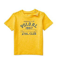 Ralph Lauren® Baby Boys Short Sleeve Sporty Tee