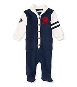 Ralph Lauren® Baby Boys' Varsity Coverall