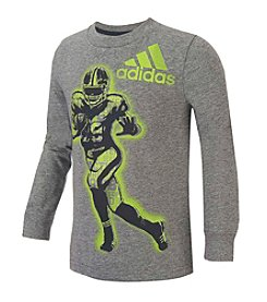 adidas® Boys' 2T-7 Long Sleeve Game Time Tee