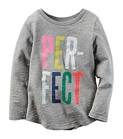Carter's® Girls' 2T-8 Long Sleeve Perfect Tee