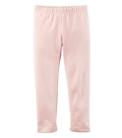 Carter's® Girls' 2T-8 Solid Fleece Lined Leggings