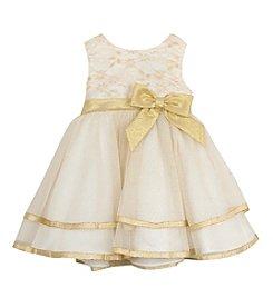 Rare Editions® Girls' 2T-4T Glitter Tiered Dress