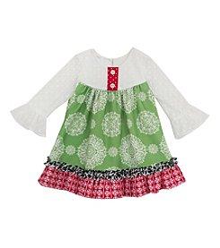 Rare Editions® Girls' 4-6X Daisy Medallion Dress