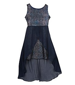 Rare Editions® Girls' 7-16 Sparkle Hi-Lo Dress