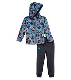 Under Armour® Baby Boys 2-Piece Camo Atlas Hoodie And Joggers Set