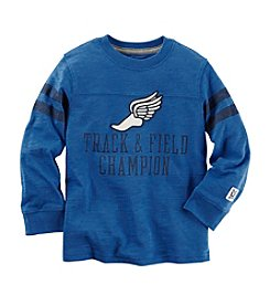 Carter's® Boys' 2T-8 Long Sleeve Track & Field Tee
