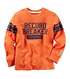 Carter's® Boys' 2T-8 Long Sleeve Record Breaker Tee