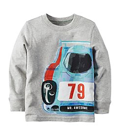 Carter's® Boys' 4-8 Long Sleeve Race Car Tee