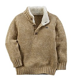 Carter's® Boys' 2T-7 Fleece Pullover Sweater