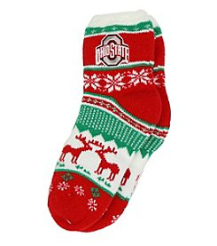 ZooZatZ™ NCAA® Ohio State Buckeyes Women's Holiday Socks