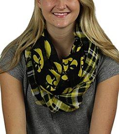 ZooZatZ™ NCAA® Iowa Hawkeyes Women's Tartan Logo Infinity Scarf