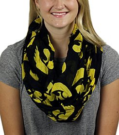 ZooZatZ™ NCAA® Iowa Hawkeyes Women's Logo Infinity Scarf