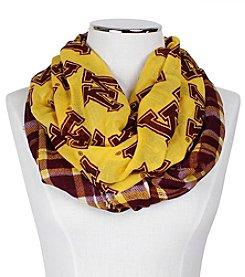 ZooZatZ™ NCAA® Minnesota Golden Gophers Women's Tartan Logo Infinity Scarf
