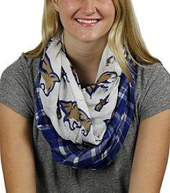 ZooZatZ™ NCAA® Montana State Bobcats Women's Tartan Logo Infinity Scarf