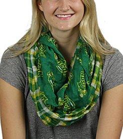 ZooZatZ™ NCAA® North Dakota State Bison Women's Tartan Logo Infinity Scarf