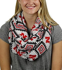 ZooZatZ™ NCAA® Nebraska Cornhuskers Women's Southwest Infinity Scarf
