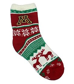 ZooZatZ™ NCAA® Minnesota Golden Gophers Women's Holiday Socks