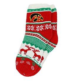 ZooZatZ™ NCAA® Iowa Hawkeyes Women's Holiday Socks
