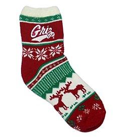 ZooZatZ™ NCAA® Montana Grizzlies Women's Holiday Socks