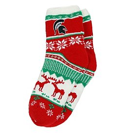 ZooZatZ™ NCAA® Michigan State Spartans Women's Holiday Socks