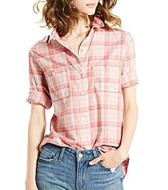 Levi's® Plaid Boyfriend Shirt