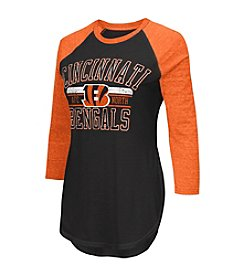 G III NFL® Cincinnati Bengals Women's Hang Time Tee