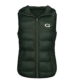 G III NFL®Green Bay Packers Women's Free Agent Packable Vest