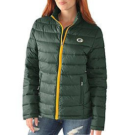 G III NFL® Green Bay Packers Women's Faircatch Packable Jacket